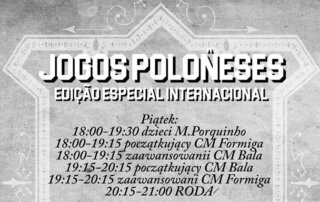 Harmonogram 6 Jogos Poloneses część 1