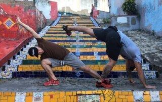 Schody Selaron w Rio de Janeiro
